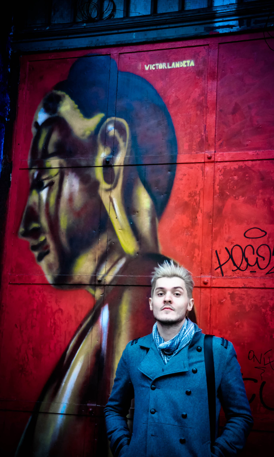 in front of Tacheles in Berlin