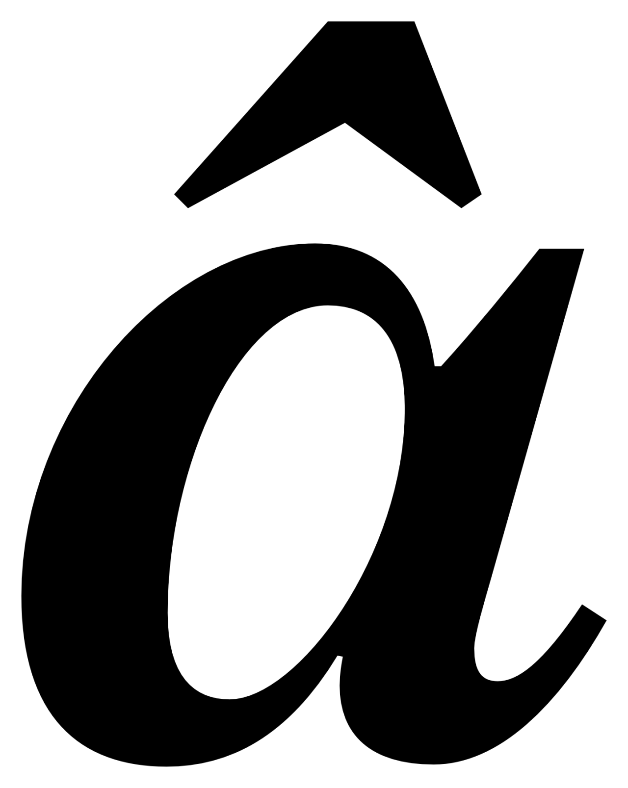 â, Benton Modern - Text Bold Italic Two