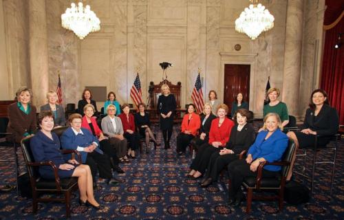 Meet the Senate's new women caucus.