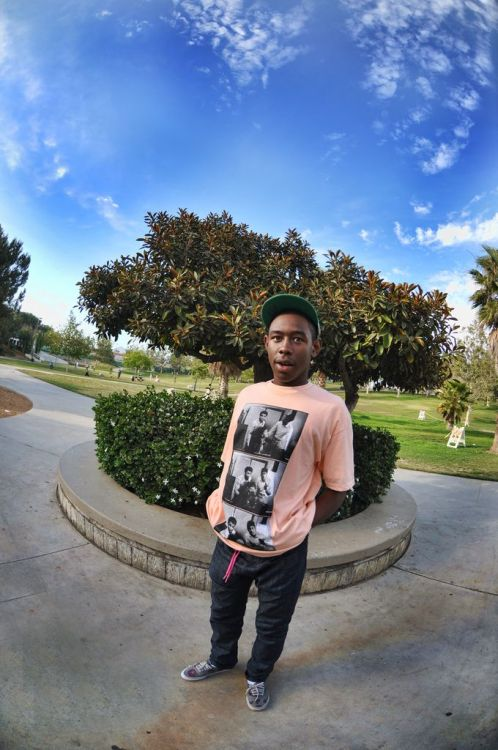 ttheyouthh:  Tyler, The Creator. Photo by: Julian Berman.