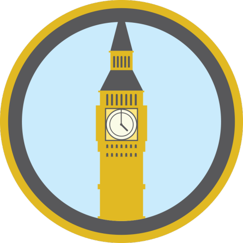 lifescouts:  Lifescouts: Big Ben Badge If you have this badge, reblog it and share your story! Look through the notes to read other people's stories. Click here to buy this badge physically (ships worldwide). Lifescouts is a badge-collecting community of people who share real-world experiences online.  I went to uni in london so I did see it then very often but I think the first time I saw big ben was when I was on a Guide trip when i was aroung 12/13yrs old :)