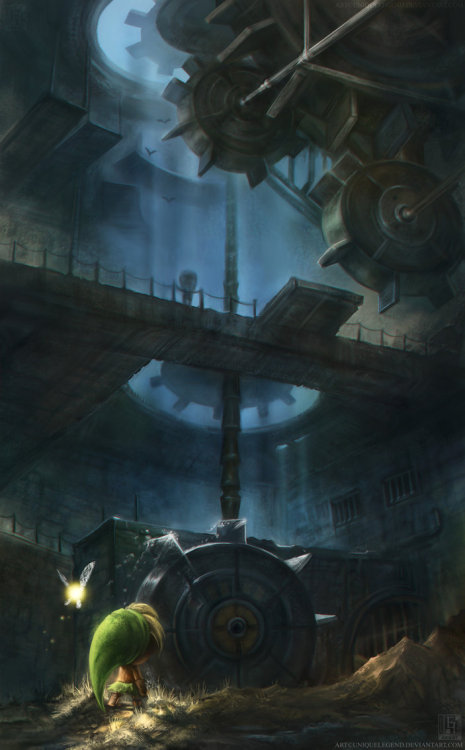Majora's Mask: The Clockworks by *uniqueLegend