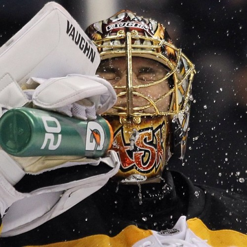 nhlbruins:  Tuukka Rask will be between the pipes for the B's against the Maple Leafs #nhlbruins