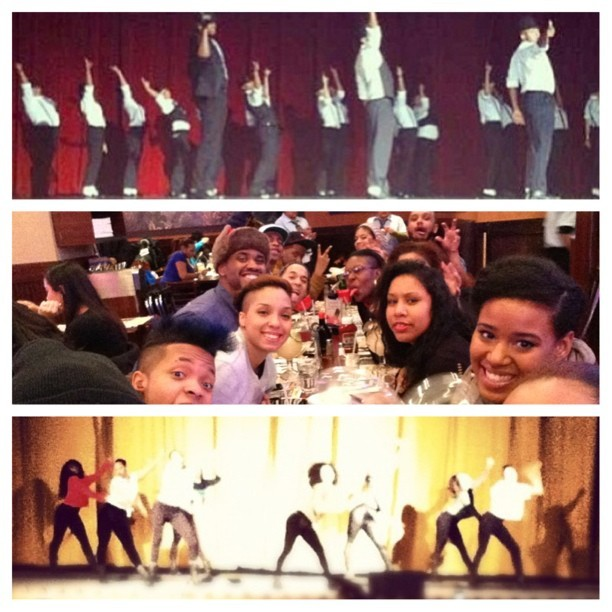 simplyyshelly:  This past weekend ❤❤  I miss my dance crew. TC you guys rock