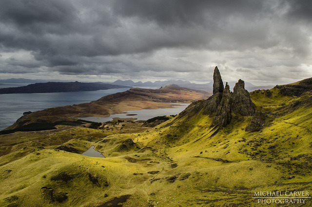 The Sanctuary - Isle of Skye by Michael~Ashley on Flickr.