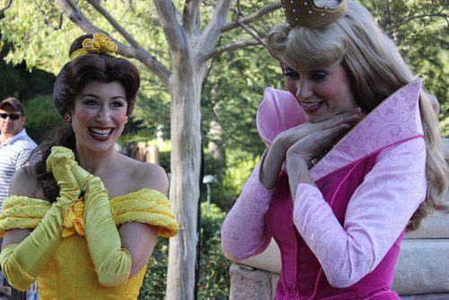 Aurora and Belle on Flickr.