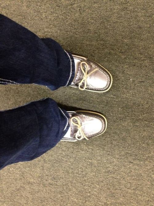 i bought new sperrys <3