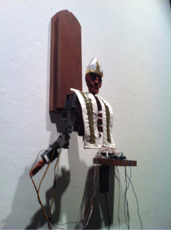 kingdomrisekingdomfall:  PopeBot K E Wolfe, 2013  from the vatican't