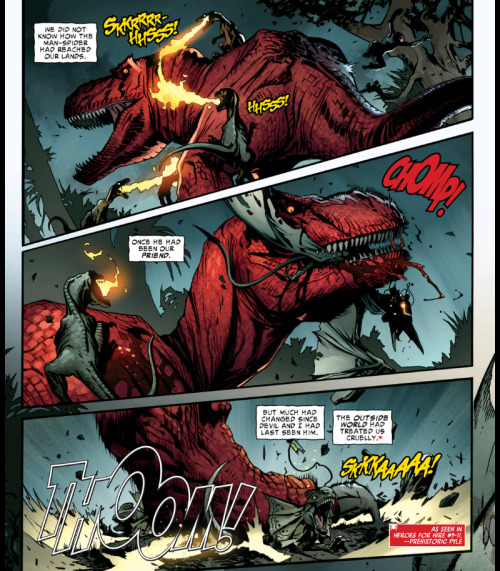DEVIL DINOSAUR DON'T TAKE NO SHIT FROM FIRE-BREATHING RAPTOR WANNABES DEVIL DINOSAUR DON'T TAKE NO SHIT FROM PTERANODONS DEVIL DINOSAUR DON'T TAKE NO SHIT FROM THE DILOPHOSAURUS FROM JURASSIC PARK