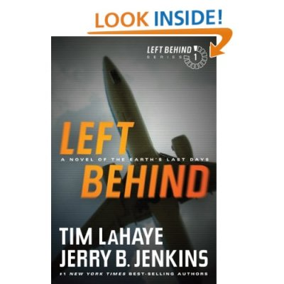 The first Left Behind novel (it was really tempting to put air quotes around that, but every book its reader and all) is free on Kindle today. The question is: how much do I hate myself? Should I?