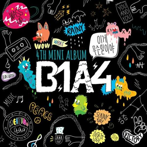 "B1A4's 4th mini album cover for ""What's Going On?"" revealed cr: beautifulday.kr"