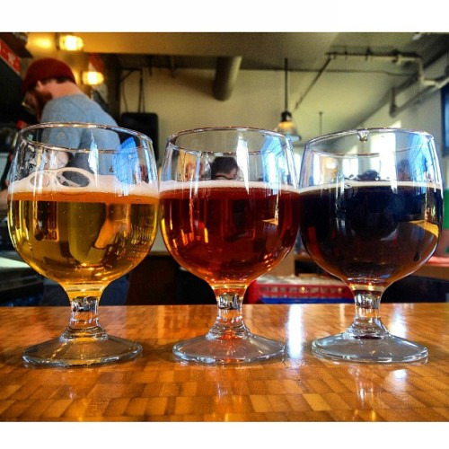 Flight school. #beer #GreatDivide #brewery (at Great Divide Brewery)