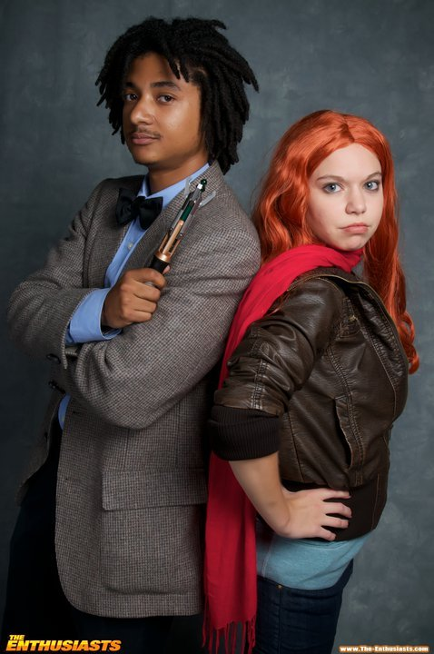 cosplayingwhileblack:  X Characters: 11th Doctor & Amy Series: Doctor Who