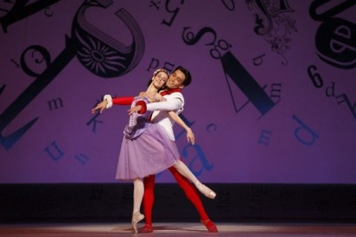 (via Greatest Ballet Couples at the National Ballet) Thank you Valentine's Day, for providing external justification for my love of love! Let's start a love train..