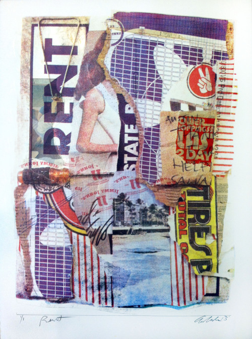 Rent Silkscreen, Collage 2013