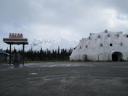 Alaska's Abandoned Igloo City Hotel