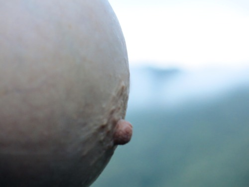 nakednewsgirl:Nipple. Blue Ridge Mountains.