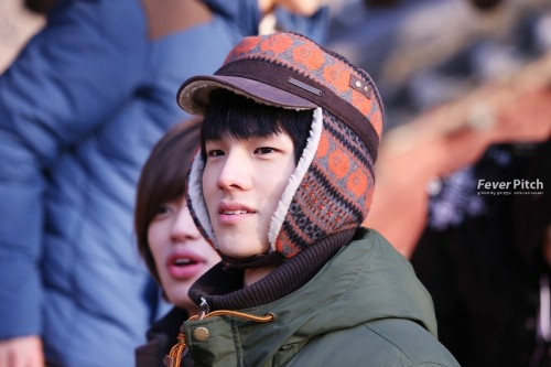 Teen Top: C.A.P - Rising Brothers Filming (121218) (1)