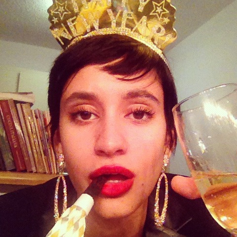 How I welcomed the new year. Woot. #nye