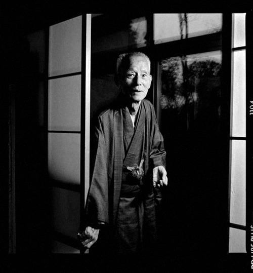 """I must confess that I felt I was only the colors with which Ozu painted his pictures, yet today I cannot think of my own identity without thinking of him. I once heard Ozu say, 'Ryu is not a skillful actor—that is why I use him.' This is very true."" Chishu RyuMay 13, 1904 — March 16, 1993"