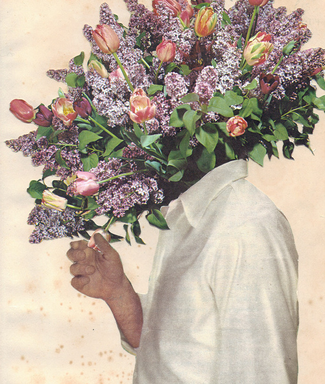owls-love-tea:  Say It With Flowers, 2011 by Joe Webb