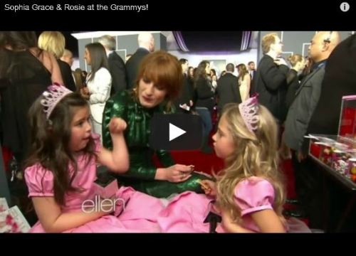 Newest Sophia Grace And Rosie Red Carpet Video Makes Me More Jealous Of Them Than Ever