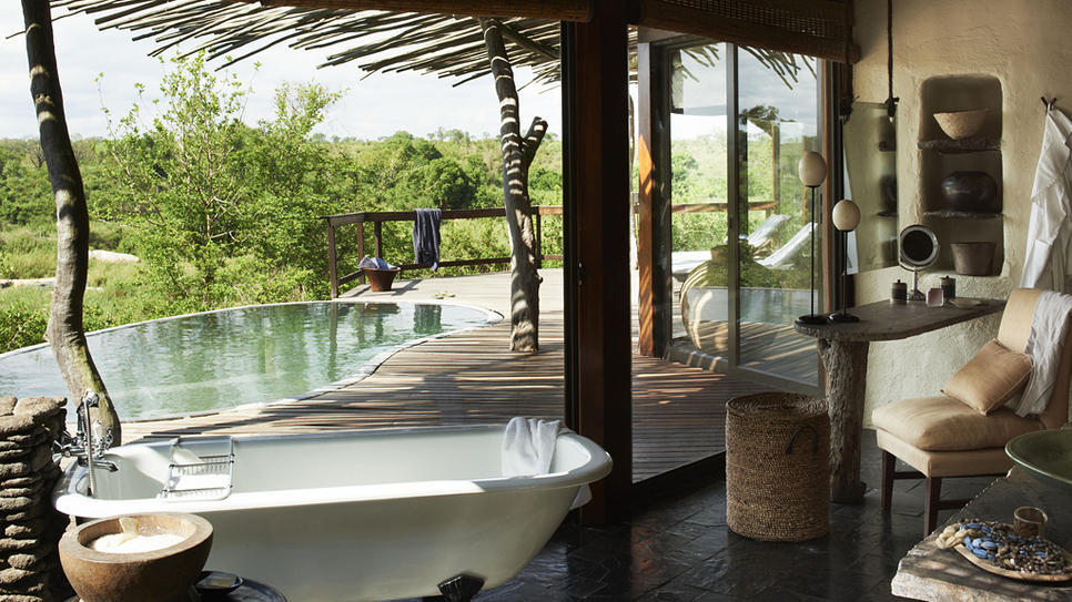 Singita Boulders Lodge in South Africa (via Singita Boulders Lodge : Daily Escape : Travel Channel)