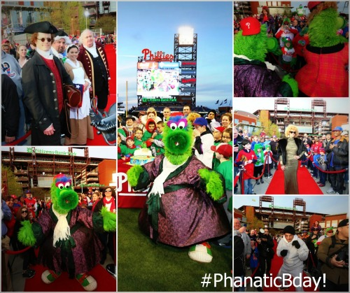 Some of Philadelphia's most notable figures came out for tonight's #PhanaticBday!