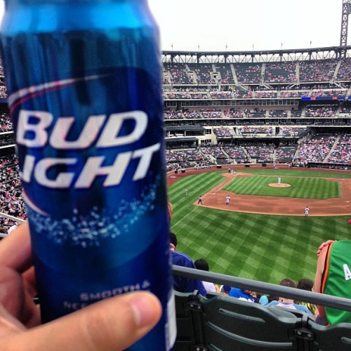 #budlight #citifield #mets #instamets