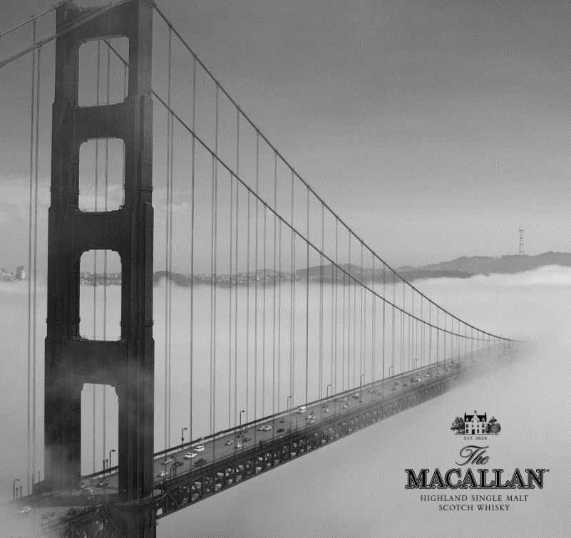 usmacallan:  Spatial + Closeness - San Francisco through photos The Macallan raises a glass to New York photographer Justin Bridges who shares the photographic juxtapositions he captured of the great city of San Francisco in his Spatial + Closeness collection.  (via Spatial + Closeness | Four Pins | Style, Gear, Life, Places, Features)   Some dope acknowledge from one of my favorite single malt makers!