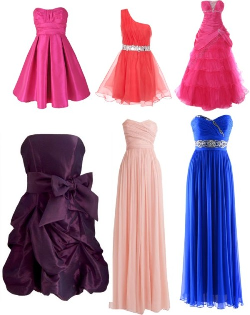 Untitled #7 by asianwonder featuring fuchsia prom dressesNotte by Marchesa silver evening gown, $1,760 / J.Crew j crew / Fuchsia prom dress / Lipsy  dress, $145