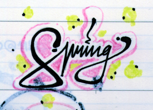 Happy 1st day of Spring! :*