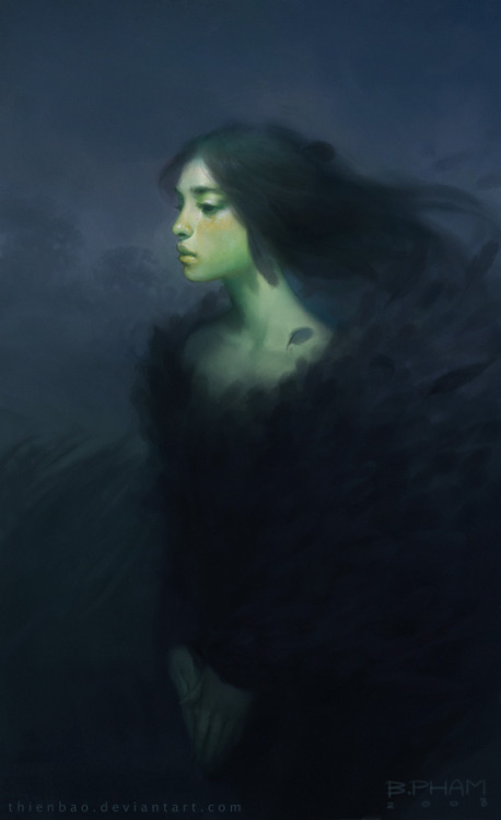 illustratosphere:  The Raven Coat by Bao Pham