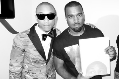terrysdiary: Pharrell and Kanye at Art Basel 2012 on Friday…