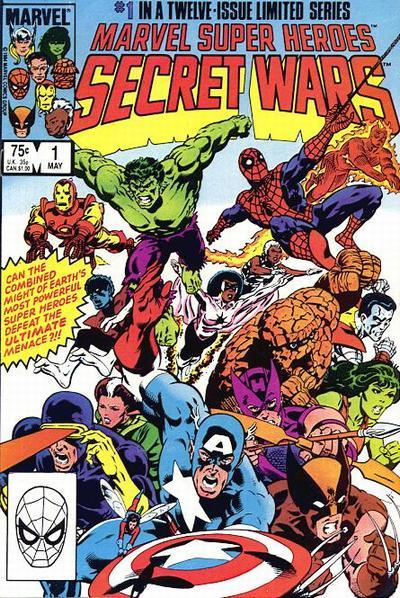 80scomiccovers:  Marvel Super Heroes Secret Wars 1, May 1984
