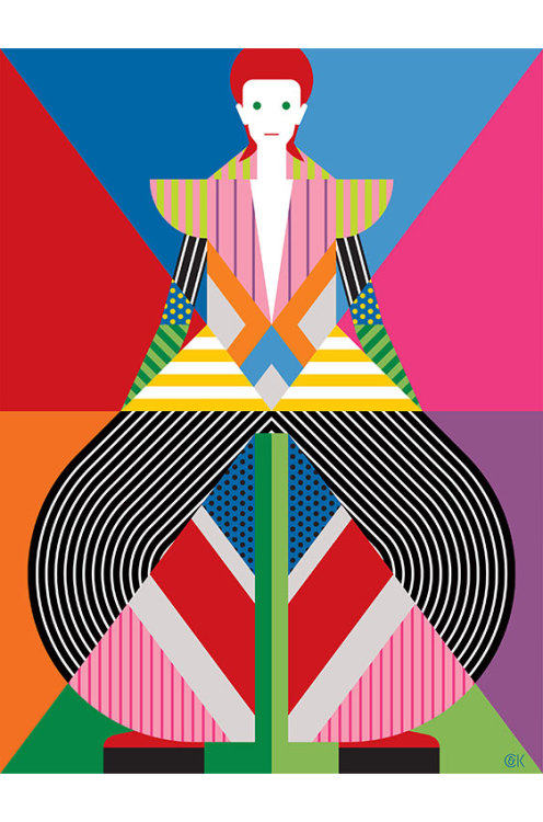 David Bowie by Craig & Karl TUMBLR   —-  Follow @garabatweet on Twitter and Garabating on Facebook —-