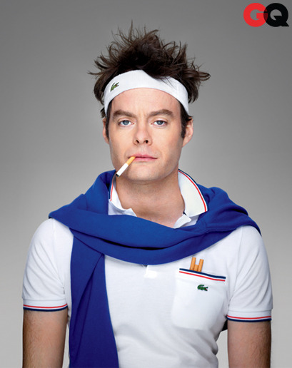 "gq:  The Bill Hader GQ Interview Before he takes his final bow on SNL, Sloane Crosley talks to comedian Bill Hader on ""Stefon,"" his classic SNL impressions, and new film The To Do List.  I CANNOT BRING MYSELF TO WATCH SNL YET SO I'M JUST GONNA GO BUY A GQ."