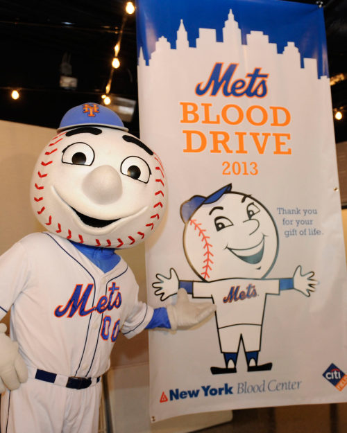 mets:  Thanks to all the Mets fans who donated blood at our annual Winter Blood Drive with the New York Blood Center. To find out how you can save a life, visit www.nybloodcenter.org