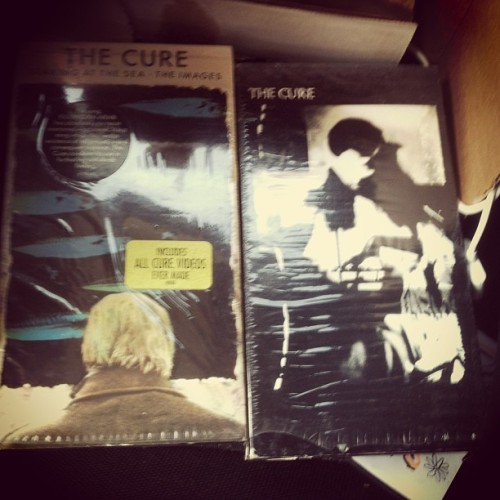 Rad mail day! The Cure - Staring At The Sea & The Cure - Picture Show VHS'