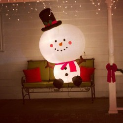 The cutest snowman.