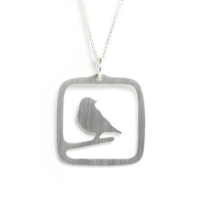 """Sparrow"" Necklace by minnettevscorey"