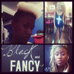 Yup ★ #nyc #style #hair #fashion #blonde #braids #hightop #fade #BlackandFancy #Williamsburg #Brooklyn