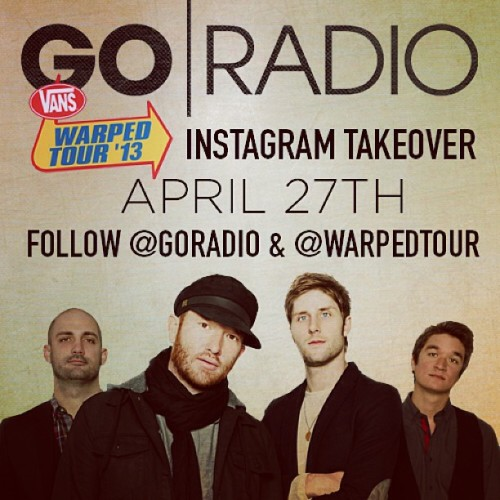 We'll be taking over @warpedtour's Instagram tomorrow! Be sure to follow them so you can see what we are up to before the summer! http://bit.ly/ZTWS5i