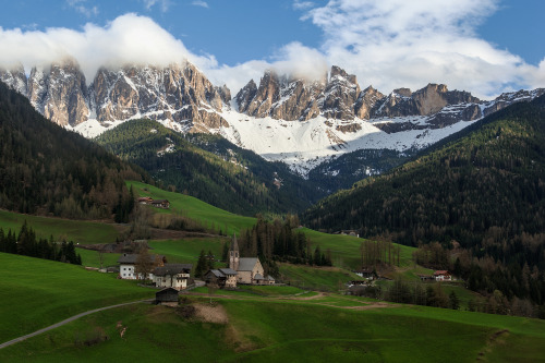 scentofapassion:  The Dolomites (Santa Maddalena, Italy) by James Clear