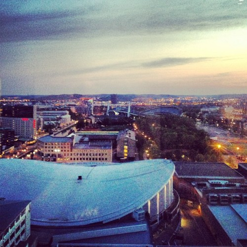 lahtela:  #gothenburg #view from gothia #towers - 04:11