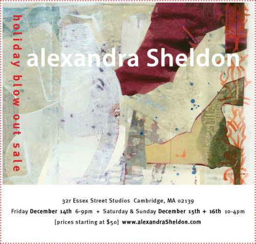 Alexandra Sheldon Holiday Blow Out Sale