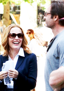 spoilers txf gillian anderson David Duchovny the x-files gillian x david the x-files revival