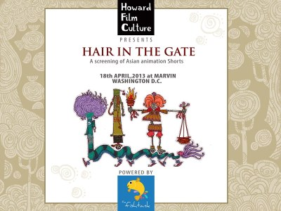 "We are selected for Hair In The Gate Filmfestival in Washington D.C. ""Mowglis Dream"", a short film by Swapnil Awate & Pranay Patwardhan including a soundscape by TinyType & Indi Kaur is part of the show. We are proud to enter big screens. Don´t miss it if you are there! 'Hair in the Gate' is a proving ground for independent filmmakers, film-heads, arts enthusiasts and arts professionals, held on the 3rd Thursday of every month at Marvin Restaurant in the historical neighborhood of U Street-Shaw in Washington D.C. 'The Fishtank' is happy to announce that we are partnering with HFC to screen the best Asian animation shorts, on 18th April 2013 for 'Hair in the Gate' at Marvin. As a part of the collaboration, this season of 'Hair in the Gate' is Powered by 'The Fishtank' in bringing the best animation short films from Asia to Washington, DC."