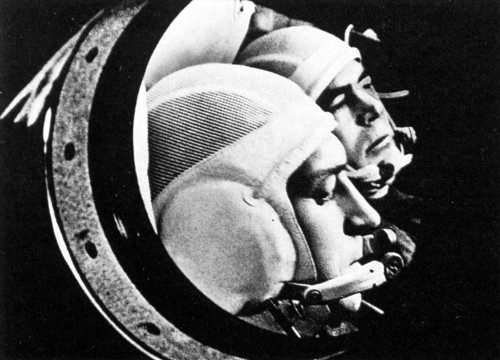 The Soyuz 9 crew, Andriyan Nikolayev and Vitaly Sevastyanov, played the first chess game across space. They played against Earth, a team that consisted of Nikolai Kaminin, head of the Cosmonaut Training Center and cosmonaut Viktor Gorbatko. The game was played on a day off for the crew and ended in a draw. You can see how the game was played here. (June 1970) (Source)
