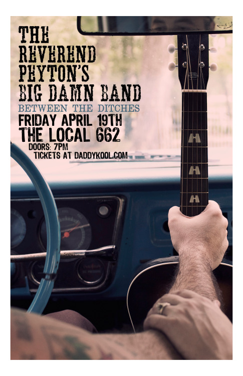 "Recently Announced: Reverend Peyton's Big Damn Band will be hitting up The Local 662 on Friday, April 19th!  This country blues trio is so much fun live and a must see if you haven't seen them already!  For more info check out http://www.daddykool.com & ""like"" us on facebook! http://www.facebook.com/noclubsproductions  Thanks & see you at the show!"